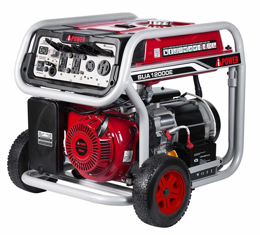 A-iPower SUA12000E 12000 Watt Whole House Generator