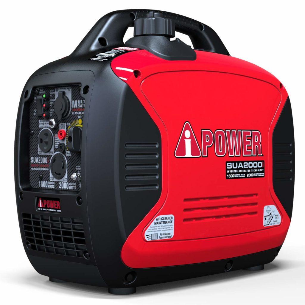 A-iPower SUA2000iV Super Quiet Camping Inverter Generator