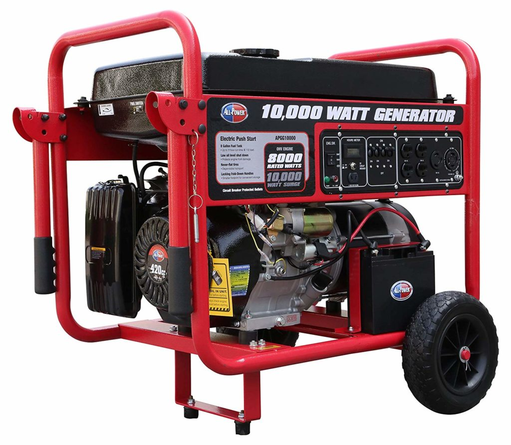 All Power America 10000 Watt Whole House Generator