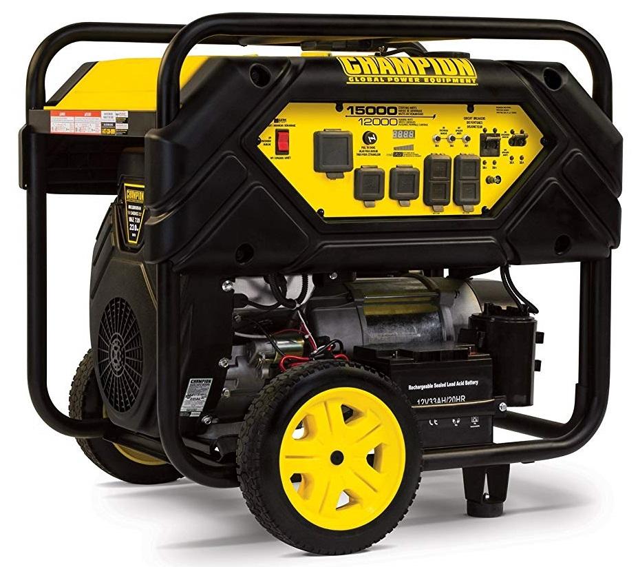 Champion 12000 Watt Portable Whole House Generator