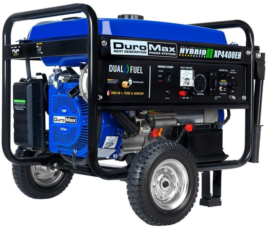 Duromax Dual Fuel 4400 Watt Generator