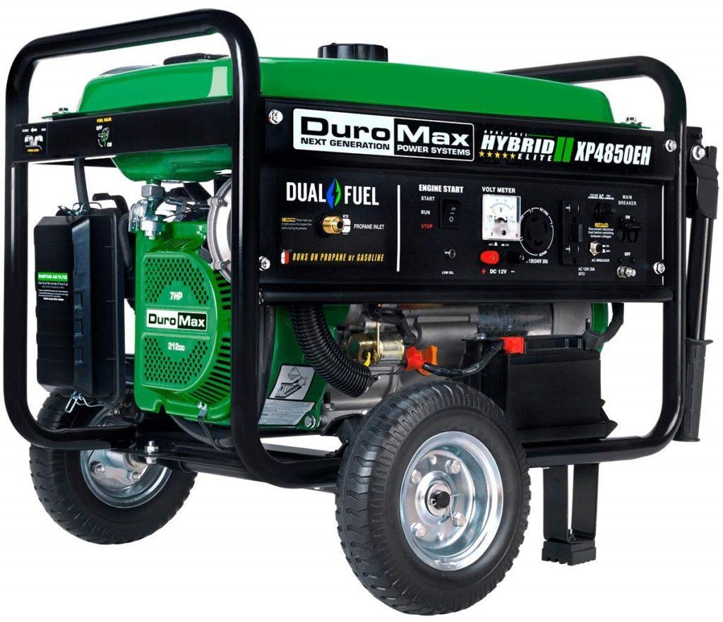 Duromax XP4850EH 4850 Watt Dual Fuel Portable Generator