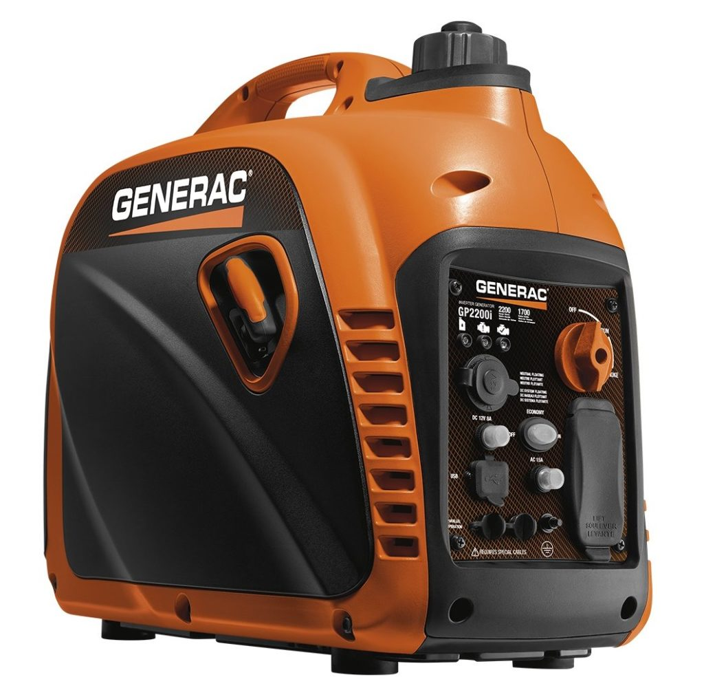 Generac 2200 Watt Portable Inverter Generator