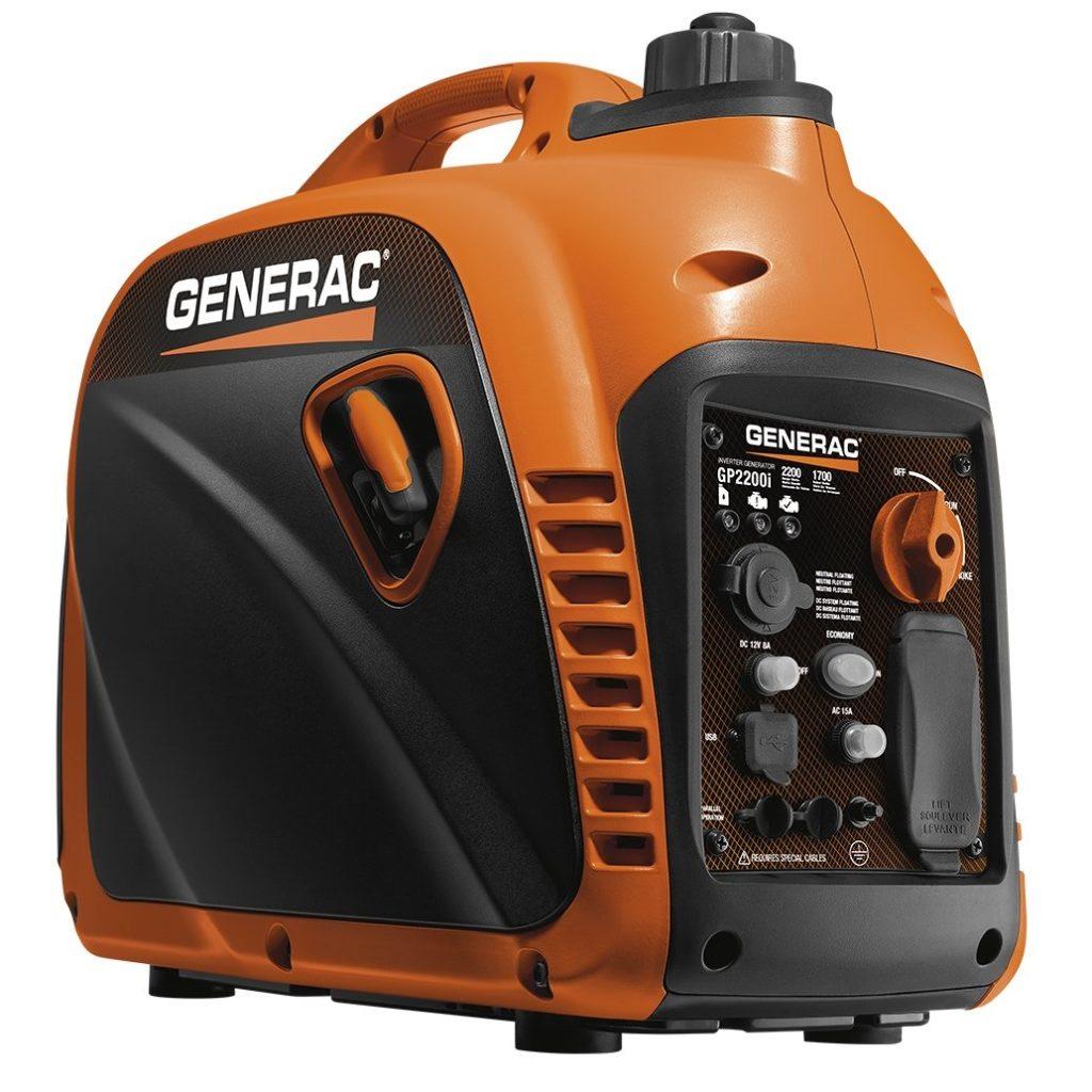 Generac 7117 GP2200i 2200 Watt Camping Generator