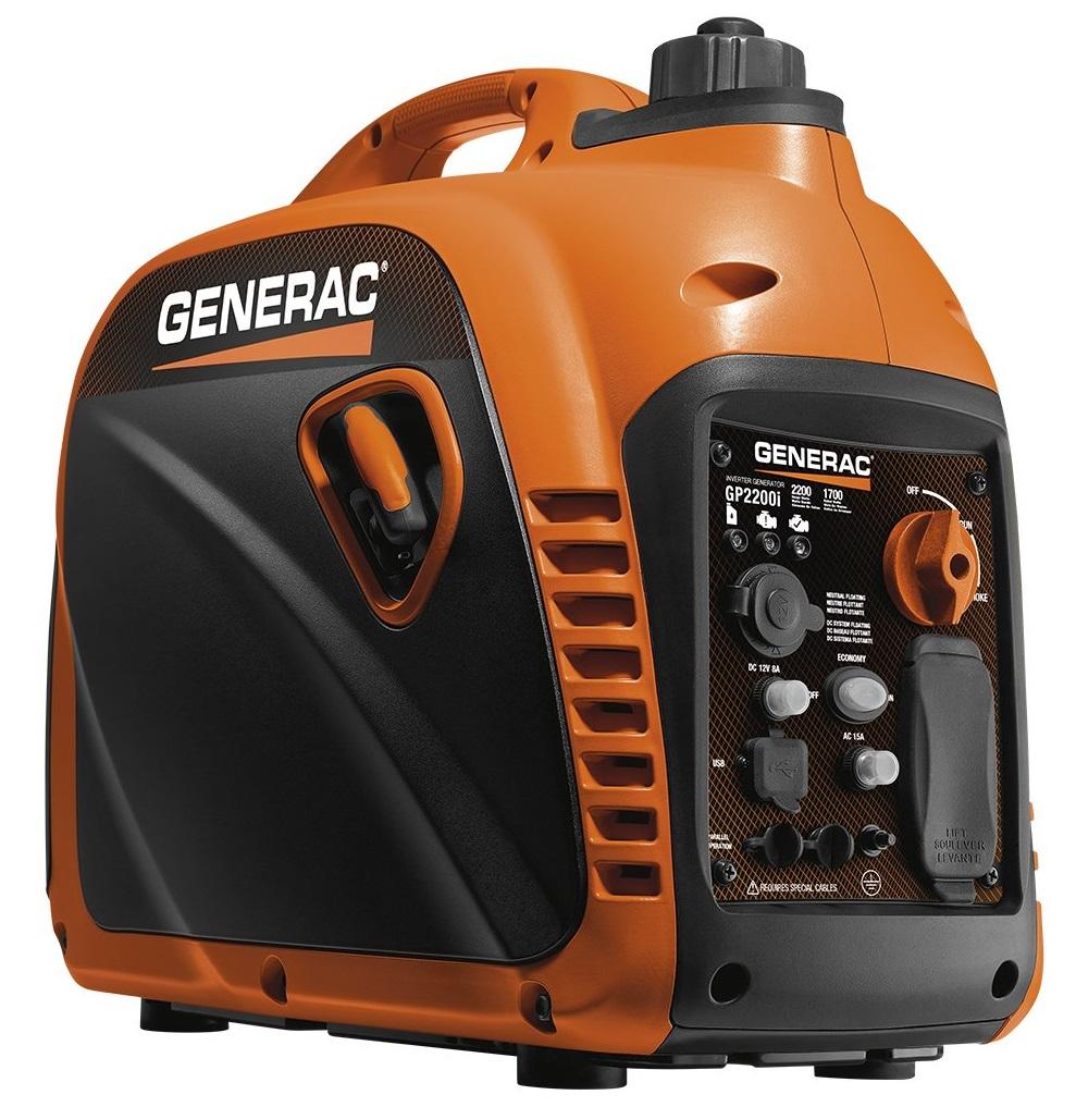 Generac GP2200i 2200 Watt Super Quiet Inverter Generator