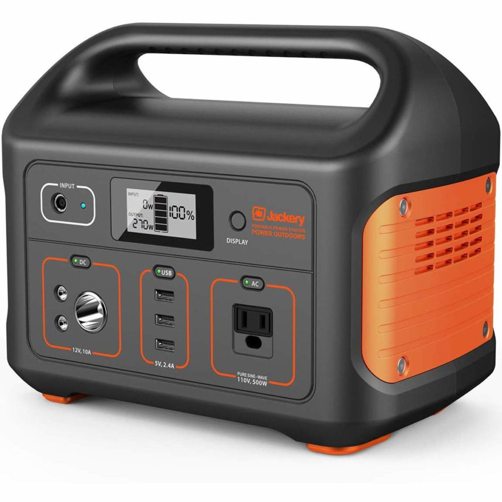 Jackery 500 Watt Portable Power Station
