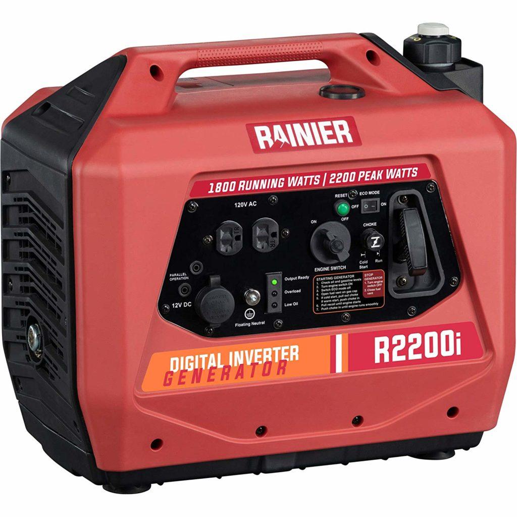 Rainier R2200i Super Quiet Inverter Generator