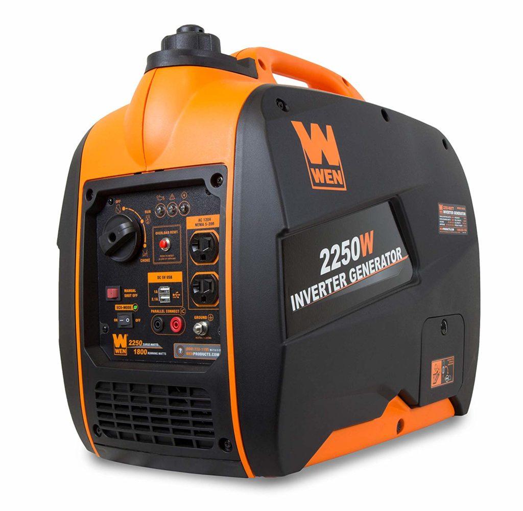 Wen 56225i Super Quiet 2250-Watt Inverter Generator
