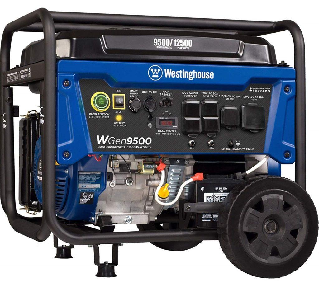 Westinghouse WGen9500 12500 Watt Whole House Generator