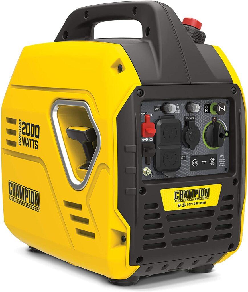 Champion 2000-Watt Ultralight Inverter Generator