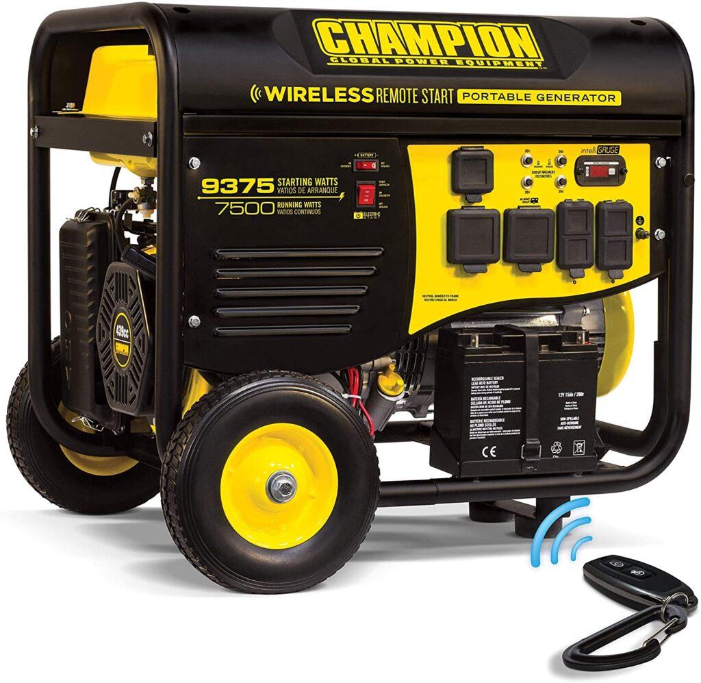 Champion 7500-Watt RV Ready Portable Generator