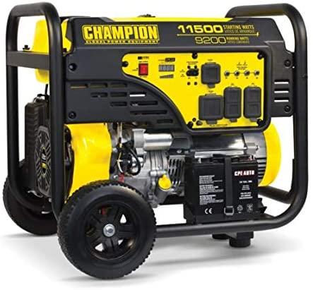 Champion 9200-Watt Generator for Whole House Use
