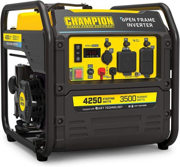 Champion 200954 4250-Watt RV Ready Open Frame Inverter Generator