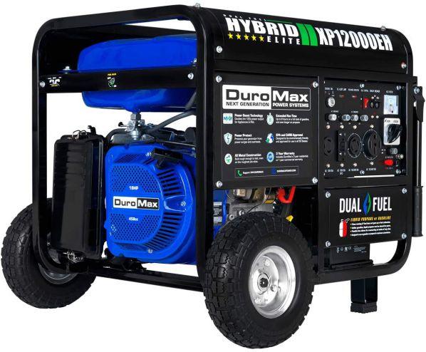 DuroMax XP12000EH 12000 Watt Dual Fuel Generator